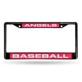 Los Angeles Angels BLACK LASER Chrome Frame