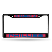 Philadelphia Phillies BLACK LASER Chrome Frame