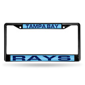 Tampa Bay Rays BLACK LASER Chrome Frame