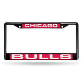Chicago Bulls BLACK LASER Chrome Frame