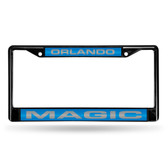 Orlando Magic BLACK LASER Chrome Frame