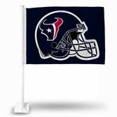 Houston Texans HELMET Car Flag - BLUE