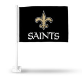 New Orleans Saints (BLACK) Car Flag