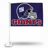 New York Giants HELMET Car Flag