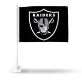Oakland Raiders SHIELD LOGO BLK BKG