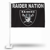 "Oakland Raiders ""RAIDER NATION"" Car Flag"