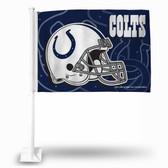 Indianapolis Colts HELMET Car Flag