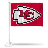 Kansas City Chiefs ARROWHEAD RED CAR FLG