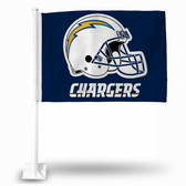 Los Angeles Chargers HELMET Car Flag