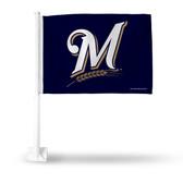 Milwaukee Brewers SECONDARY DESIGN Car Flag