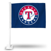 Texas Rangers Car Flag BLUE