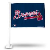 Atlanta Braves SECONDARY DESIGN Car Flag