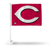 Cincinnati Reds SECONDARY DESIGN Car Flag