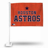 Houston Astros SECONDARY DESIGN Car Flag