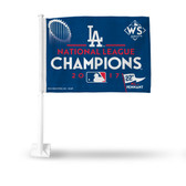 Los Angeles Dodgers 2017 NATIONAL LEAGUE CHAMPIONS Car Flag