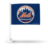 New York Mets BLUE Car Flag