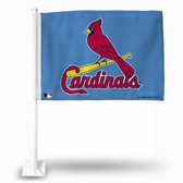 St. Louis Cardinals LIGHT BLUE Car Flag