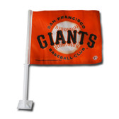 San Francisco Giants ORANGE Car Flag