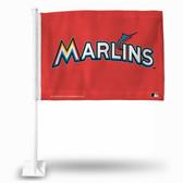 Miami Marlins ORANGE Car Flag