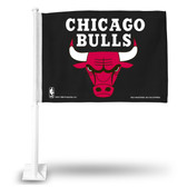 Chicago Bulls Car Flag (BLACK)