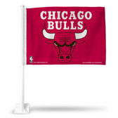 Chicago Bulls Car Flag (RED)