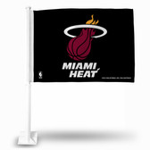 Miami Heat BLACK Car Flag