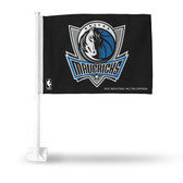 Dallas Mavericks Car Flag (BLACK)