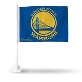 Golden State Warriors Car Flag - BLUE
