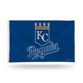 Kansas City Royals SHIELD LOGO Banner Flag