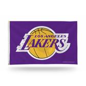 Los Angeles Lakers Banner Flag PURPLE