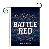 """Houston Texans Garden Flag13"""" X 18"""""""
