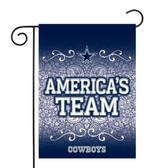 """Dallas Cowboys Garden Flag13"""" X 18"""""""