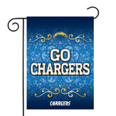 "Los Angeles Chargers Garden Flag13"" X 18"""