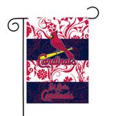 """St. Louis Cardinals - SL Garden Flag13"""" X 18"""""""