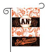 """San Francisco Giants - SF Garden Flag13"""" X 18"""""""