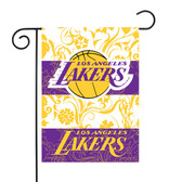 "Los Angeles Lakers Garden Flag13"" X 18"""