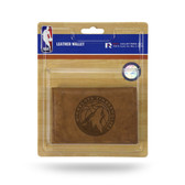 Minnesota Timberwolves Leather Trifold Wallet