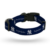 New York Yankees Pet Collar - Large