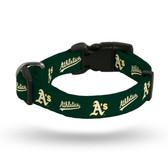 Oakland Athletics Pet Collar - Medium