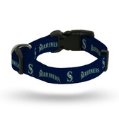 Seattle Mariners Pet Collar - Medium