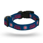 Chicago Cubs Pet Collar - Medium
