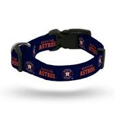 Houston Astros Pet Collar - Small