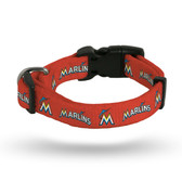 Miami Marlins Pet Collar - Small