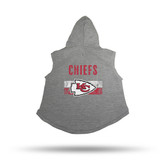 Kansas City Chiefs PET HOODIE - XL