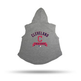 Cleveland Indians PET HOODIE - LARGE