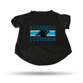 Carolina Panthers - CR BLACK PET T-SHIRT - LARGE