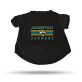 Jacksonville Jaguars BLACK PET T-SHIRT - LARGE