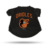 Baltimore Orioles BLACK PET T-SHIRT - SMALL