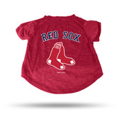Boston Red Sox RED PET T-SHIRT - SMALL