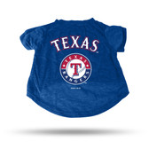 Texas Rangers - TX ROYAL PET T-SHIRT - LARGE
